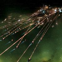 Weltraumschlacht in Stellaris