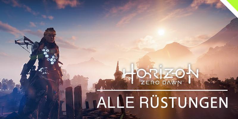 Horizon: Zero Dawn - Alle Rüstungen