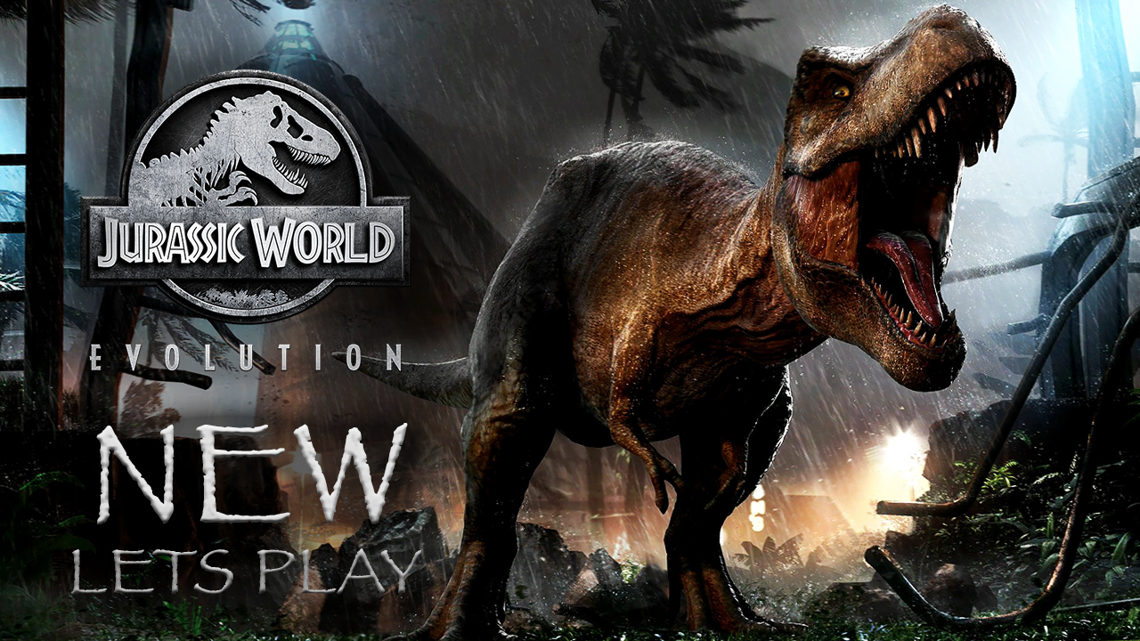 Jurassic World Evolution Banner